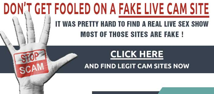 Fake & Legit sex cam sites warning